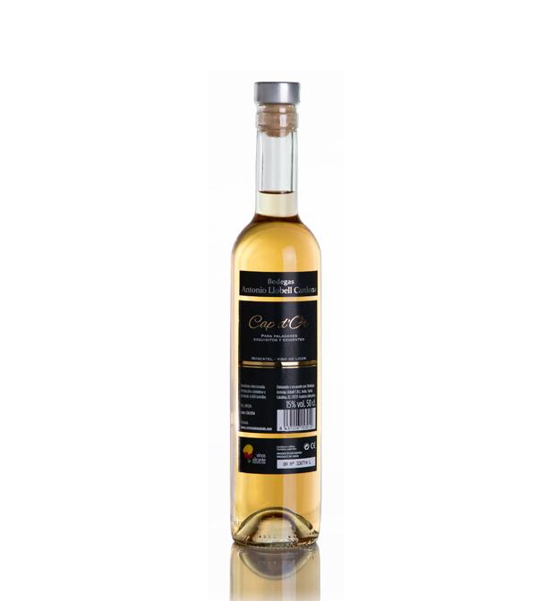 vino dulce de licor moscatel cap d'or