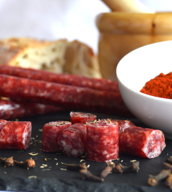 spanish-cured-thin-sausage
